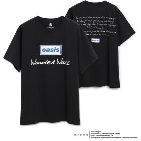 アダム エ ロペ オム/【OASIS×ADAM ET ROPE'】SONG LYRICS T-shirt 19SS/ブラック系/M