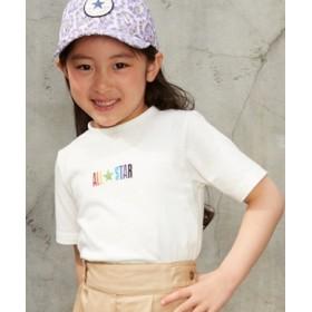 CONVERSE ロゴプリントTシャツ キッズ ホワイト