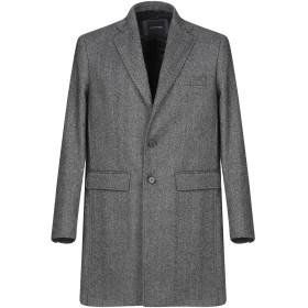 《セール開催中》GUESS BY MARCIANO メンズ コート スチールグレー 46 ウール 45% / アクリル 20% / ポリエステル 15% / ナイロン 15% / 指定外繊維 5%