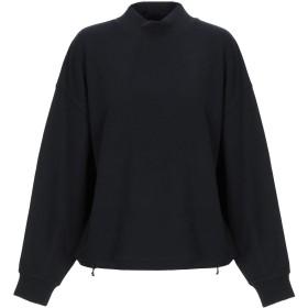 《期間限定セール開催中!》VINCE. レディース スウェットシャツ ブラック M コットン 100%