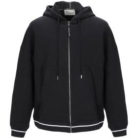 《9/20まで! 限定セール開催中》DRLE DE MONSIEUR メンズ スウェットシャツ ブラック S コットン 100%