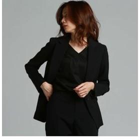 【J Lounge:ジャケット】【セットアップ】ソリビアツイルテーラードジャケット
