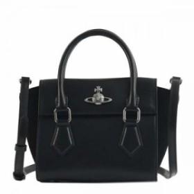 ヴィヴィアンウエストウッド 42010032 MATILDA BLACKハンドバッグ【】【新品/未使用/正規品】