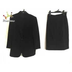 ダックス DAKS スカートスーツ サイズ11 M レディース 美品 黒 新着 20190515