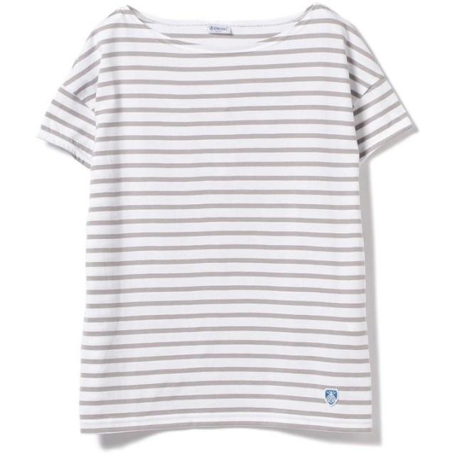 ビームス ウィメン ORCIVAL / ボーダー Tシャツ レディース WHITE/LGREY ONESIZE 【BEAMS WOMEN】