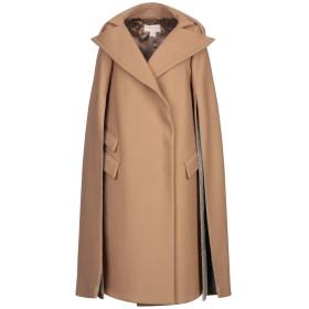 《送料無料》ANTONIO BERARDI レディース コート キャメル 44 バージンウール 80% / ナイロン 20% / ウール