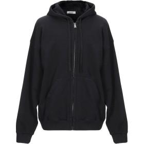 《期間限定 セール開催中》CROSSLEY メンズ スウェットシャツ ブラック M コットン 100%