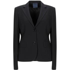 《セール開催中》ASPESI レディース テーラードジャケット ブラック 40 紡績繊維