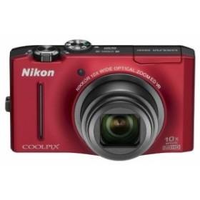 Nikon デジタルカメラ COOLPIX S8100 フラッシュレッド S8100RD 1210万画素 光学10倍ズーム 広角30mm 3.0型液晶 裏面照射型CMOS 中古品