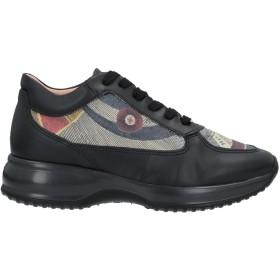 《セール開催中》GATTINONI レディース スニーカー&テニスシューズ(ローカット) ブラック 35 紡績繊維