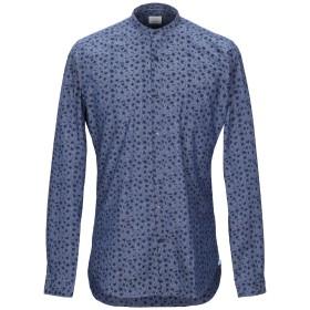 《期間限定セール開催中!》CALIBAN メンズ デニムシャツ ブルー 44 コットン 97% / ポリウレタン 3%