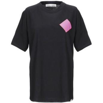 《期間限定セール開催中!》PROENZA SCHOULER レディース T シャツ ブラック L コットン 100%