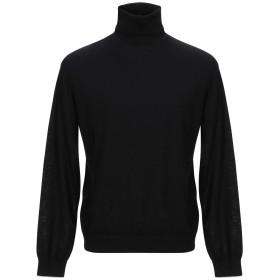 《期間限定 セール開催中》PS PAUL SMITH メンズ タートルネック ブラック XL ウール 100%
