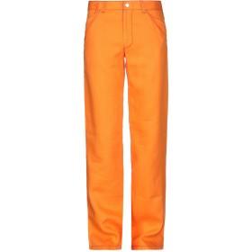 《期間限定 セール開催中》GF FERRE' メンズ パンツ オレンジ 32 麻 100%