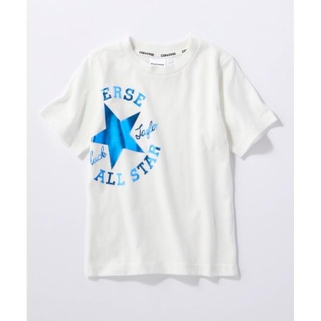 CONVERSE ロゴプリントTシャツ キッズ *ホワイト