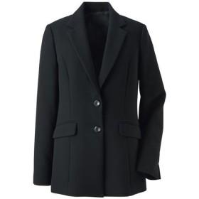 【レディース】 ブラックフォーマルジャケット(選べる2レングス・洗濯機OK) - セシール ■カラー:ブラックB(ロング丈) ■サイズ:7AR,19ABR,11AR,13AR,9AR,21ABR,15ABR,17ABR