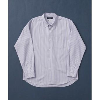 アーバンリサーチ トーマスメイソンオーバーシャツ メンズ BLUE/ST L 【URBAN RESEARCH】