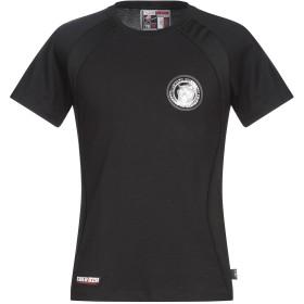《期間限定セール開催中!》PLEIN SPORT メンズ T シャツ ブラック M コットン 100%