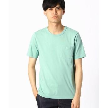 COMME CA ISM / コムサイズム ポケット付 カラーTシャツ