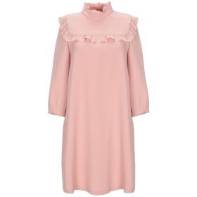 《期間限定セール開催中!》I BLUES レディース ミニワンピース&ドレス ピンク 40 ポリエステル 100%