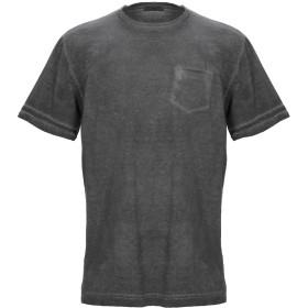 《セール開催中》CROSSLEY メンズ T シャツ スチールグレー S コットン 100%