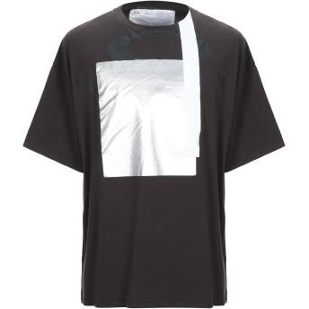 《9/20まで! 限定セール開催中》OAKLEY メンズ T シャツ ダークブラウン XL コットン 100%