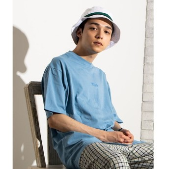 [マルイ]【セール】ピグメントワンポイント刺繍Tシャツ/ウィゴー(メンズ)(WEGO)
