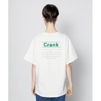 SENSE OF PLACE(センスオブプレイス) トップス Tシャツ・カットソー バックロゴプリントTシャツ(半袖)