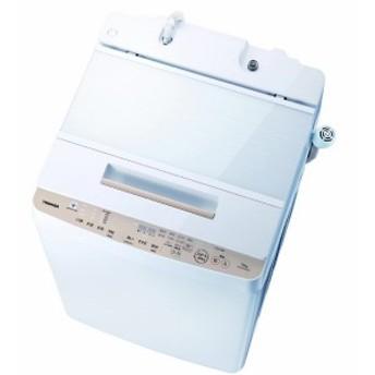 東芝 TOSHIBA 全自動洗濯機 「ZABOON/ザブーン」 [洗濯10.0kg/インバーターモーター搭載] AW-BK10SD8-W グランホワイト