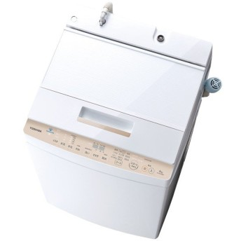 【基本設置料金セット】 東芝(TOSHIBA) 全自動洗濯機 AW-BK8D8(W) グランホワイト 【お届け日時指定不可】