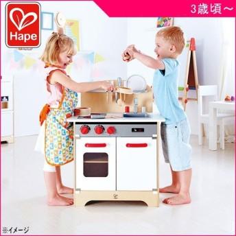 ままごと E3152 はじめてのキッチン Hape ハペ おもちゃ 木製玩具 ごっこ遊び 誕生日 お祝い ギフト プレゼント 一部地域送料無料