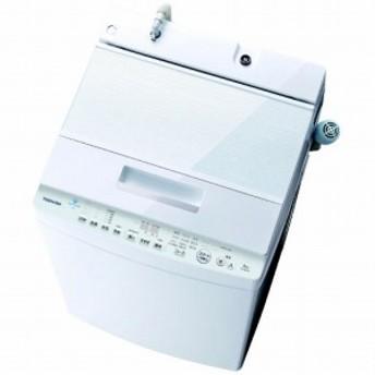 東芝 TOSHIBA 全自動洗濯機 「ZABOON/ザブーン」 [洗濯8.0kg/インバーターモーター搭載] AW-8D8-W グランホワイト