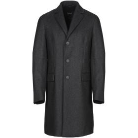 《期間限定 セール開催中》HEV メンズ コート スチールグレー 50 カシミヤ 100%