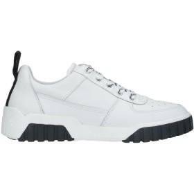 《セール開催中》DIESEL メンズ スニーカー&テニスシューズ(ローカット) ホワイト 41 革