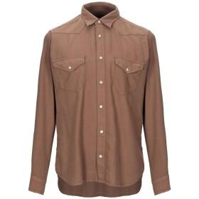 《セール開催中》TINTORIA MATTEI 954 メンズ シャツ カーキ M コットン 80% / ウール 20%
