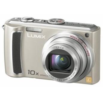 パナソニック デジタルカメラ LUMIX (ルミックス) シルバー DMC-TZ5-S 中古品 アウトレット