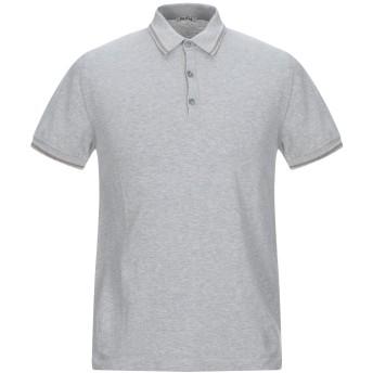《9/20まで! 限定セール開催中》RODA メンズ ポロシャツ グレー M コットン 100%
