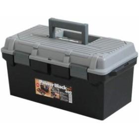 アステージ(ASTAGE) DIY 工具箱 ツールパワー #490 ブラック 【日用品 収納 生活雑貨 収納ボックス 工具 プラケース 収納コンテナ】