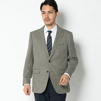【ORUGANOMAC】袖ピタ杢メッシュジャケット(メンズ) ウスチャ