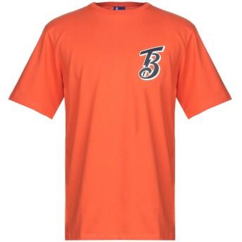 《期間限定セール開催中!》BEAMS by CHAMPION メンズ T シャツ オレンジ L コットン 100%