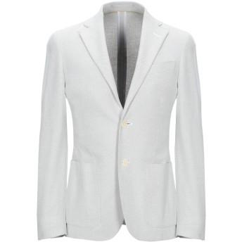 《期間限定セール開催中!》CC COLLECTION CORNELIANI メンズ テーラードジャケット ライトグレー 44 コットン 100%