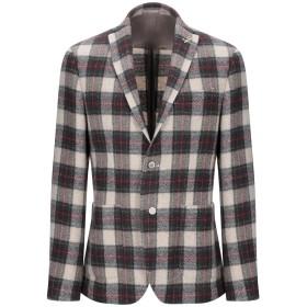 《セール開催中》PAOLONI メンズ テーラードジャケット ベージュ 48 バージンウール 100%
