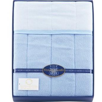 4530807049958 ティツィアナ・ガロ 年間使えるリバーシブル敷パット ブルー(包装・のし可)