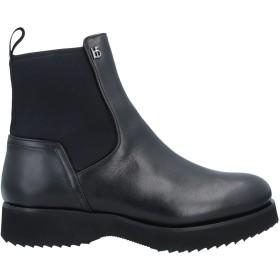 《送料無料》ROBERTO BOTTICELLI レディース ショートブーツ ブラック 35 革 / 紡績繊維