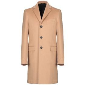 《期間限定セール開催中!》HEV メンズ コート キャメル 48 バージンウール 100%