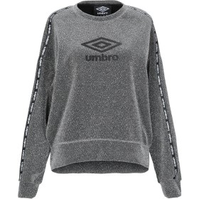 《期間限定 セール開催中》UMBRO レディース スウェットシャツ グレー S レーヨン 65% / ナイロン 22% / 金属繊維 9% / ポリウレタン 4%
