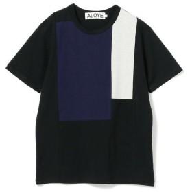 [マルイ] ALOYE × Ray BEAMS / 別注 カラー ブロック Tシャツ/レイ ビームス(Ray BEAMS)