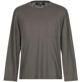 《期間限定セール開催中!》HYDROGEN メンズ T シャツ ミリタリーグリーン L コットン 100%