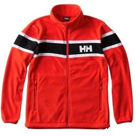 ヘリーハンセン(HELLY HANSEN) メンズ ソルトフリースジャケット Salt Fleece Jacket ソーラーレッド Lサイズ HH51850 SL アウター セーリング ヨット 海