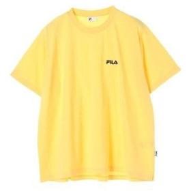 イーハイフンワールドギャラリー E hyphen world gallery FILAワンポントTシャツ (Yellow)